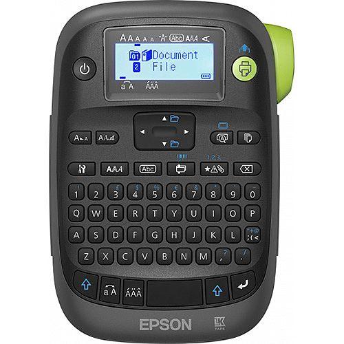Epson 180DPI, 6mm/sec, AZERTY, LCD 130 x 48, 110 x 170 x 460mm, 415g