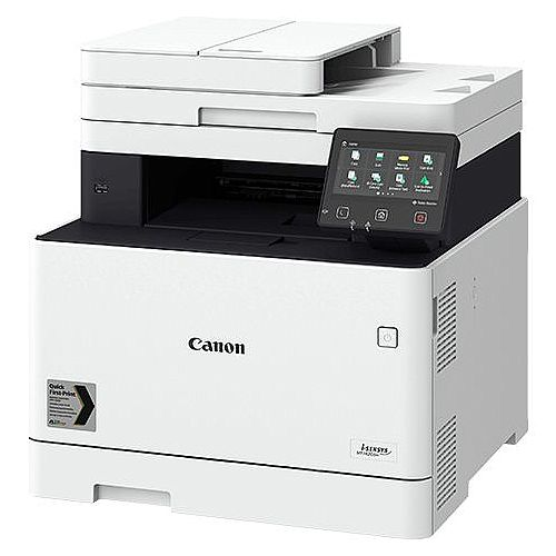 Canon i-SENSYS MF740 MF742Cdw Laser Multifunction Printer - Colour - Copier/Printer/Scanner - 27 ppm Color Print - 1200 x 1200 dpi - Automatic Duplex Print