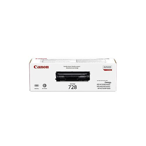 728 Original Toner Cartridge Black Laser 2100 Pages