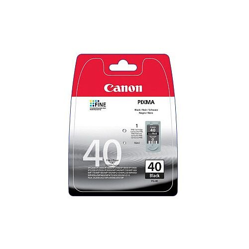 Canon PG-40 Original Ink Cartridge Black Inkjet