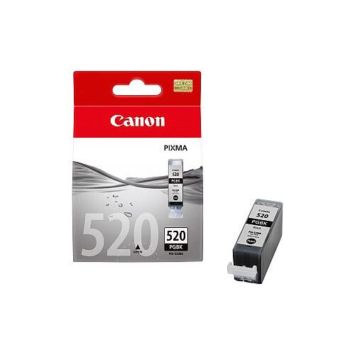 Canon PGI-520BK Original Ink Cartridge Black Inkjet 324 Pages 2 / Pack