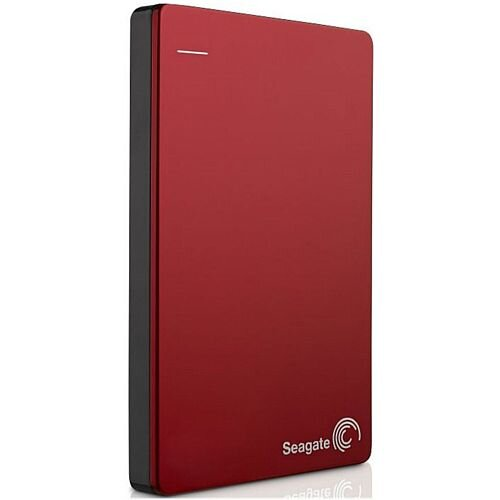 "Seagate Backup Plus STDR1000203 1 TB 2.5"" External Hard Drive USB 3.0 Portable Red"