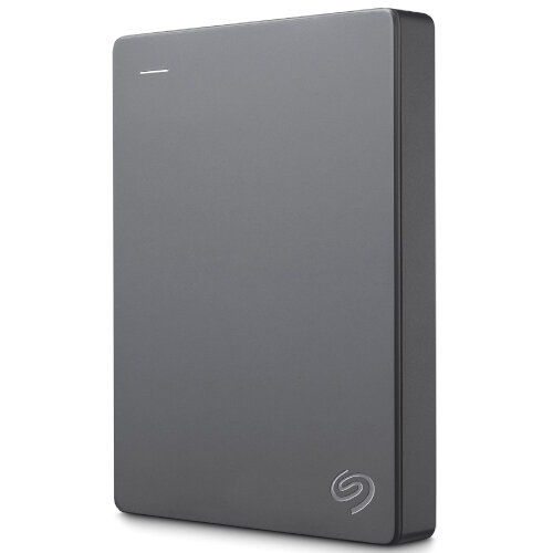 "Seagate Basic 2 TB Portable Hard Drive - 2.5"" External HDD - Windows &Mac Supported - USB 3.1 High Speed - Plug&lay, Lightweight, Compact - STJL2000400 - Colour: Silver"