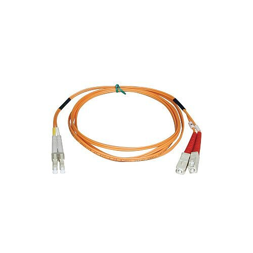 Tripp Lite Fibre Optic Network Cable 1 m 2 x LC Male 2 x SC Male Patch Cable