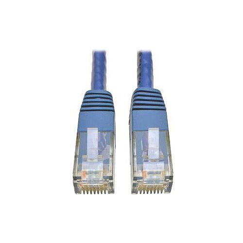 Tripp Lite N200-007-BL Category 6 Network Cable for Network Device Router Modem Blu-ray Player Printer Computer 2.13 m