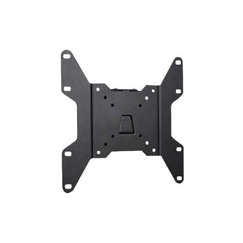 "Manhattan Wall Mount for Flat Panel Display 43.2 cm 17"" to 94 cm 37"" Screen Support 79.83 kg Load Capacity Steel Black 423731"