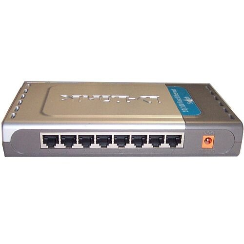D-Link DES-1008D 8 Ports Ethernet Switch 8 x Fast Ethernet Network 2 Layer Supported