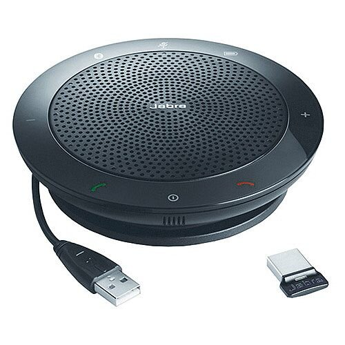 Jabra Speak 510 Plus Speakerphone USB Headphone Microphone Desktop