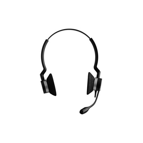 Jabra BIZ 2300 QD Wired Stereo Headset Over-the-head Supra-aural Quick Disconnect