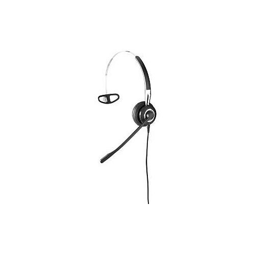 Jabra BIZ 2400 II QD Wired Mono Headset Over-the-head Behind-the-neck Supra-aural Quick Disconnect Yes