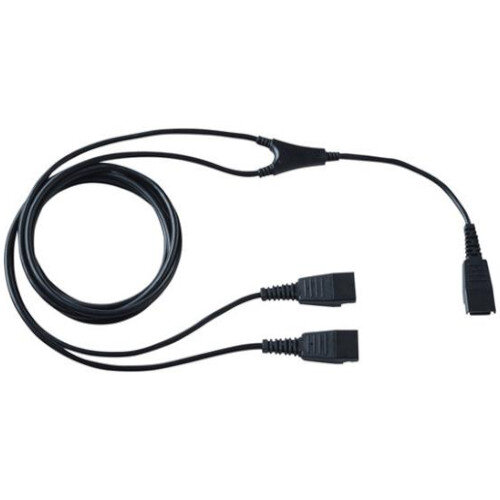 Jabra Quick Disconnect Phone Cable for Microphone, Headset, Phone - First End: 1 x Quick Disconnect Phone - Second End: 2 x Quick Disconnect Phone
