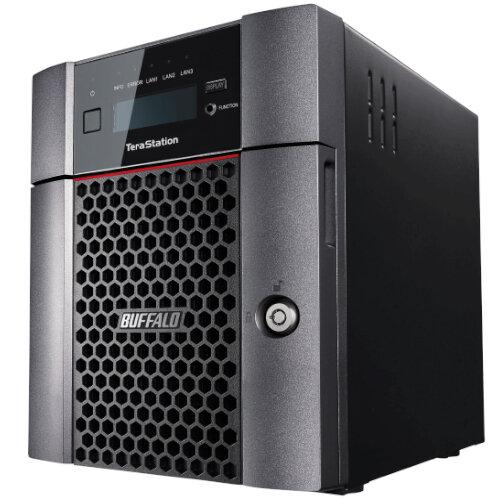 Buffalo TeraStation 5410DN SAN/NAS Storage System - 4 Bays - 8TB of Total Memory Installed - 4GB RAM - 10 Gigabit Ethernet