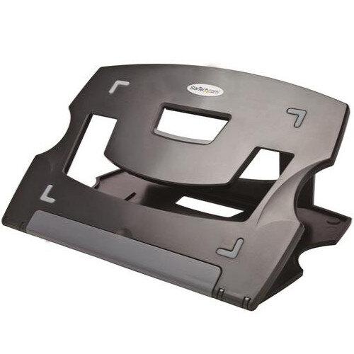 "StarTech Portable, Adjustable Laptop Stand - Notebook Stand, Minimum Screen Size Compatibility: 22.9 cm (9"") - Colour: Black"