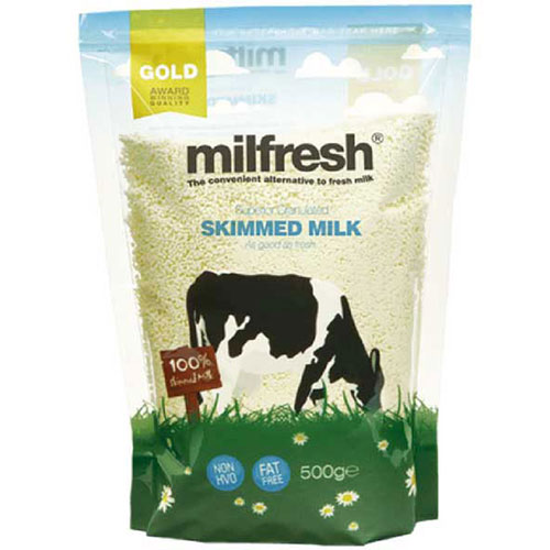Milfresh Granulated Skimmed Milk For LB 2600 Coffee Machine 10 x 500g Packs