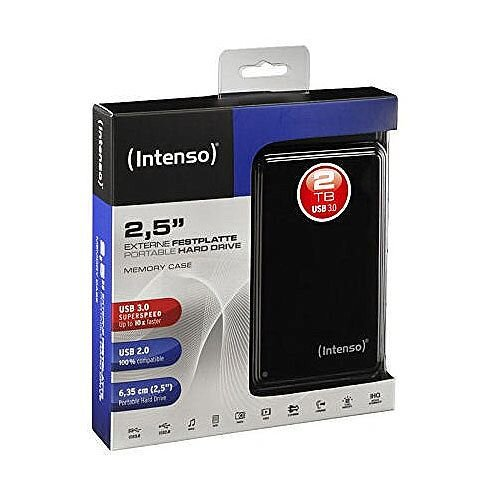 Intenso USB Hard Disk Drive 2TB 6021580