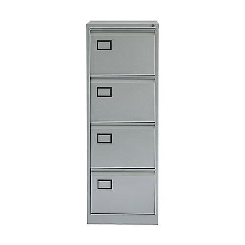 4-Drawer Filing Cabinet Grey SPECIAL OFFER Jemini By Bisley