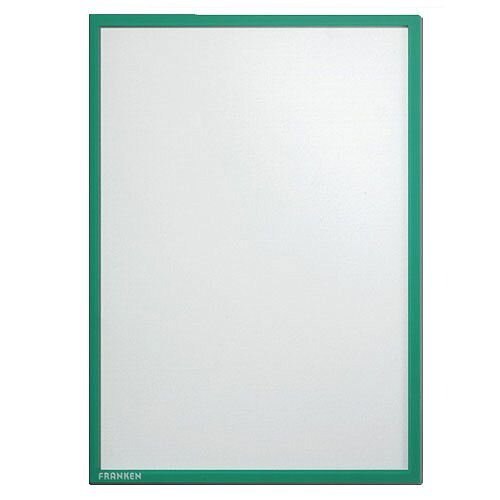 Franken Self-Adhesive Document Holder ValueLine A4 Green ITSA4S 02