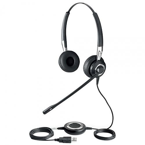 Jabra Biz 2400 Duo USB Headset Pk1
