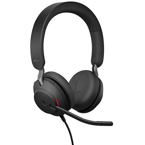 Jabra Evolve2 40 USB-C MS Stereo Headset 706487020035