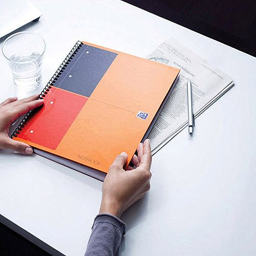 Oxford A4+ International Classic Notebook Wirebound 160 Pages