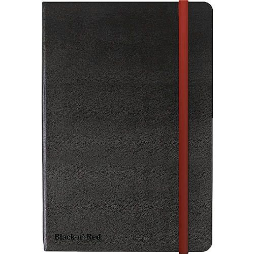Black by Black n Red Hard Cover A4 Notebook 400038675
