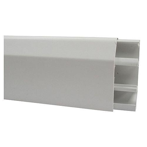 Marshall Tufflex Skirting Trunking 3m lgth - White