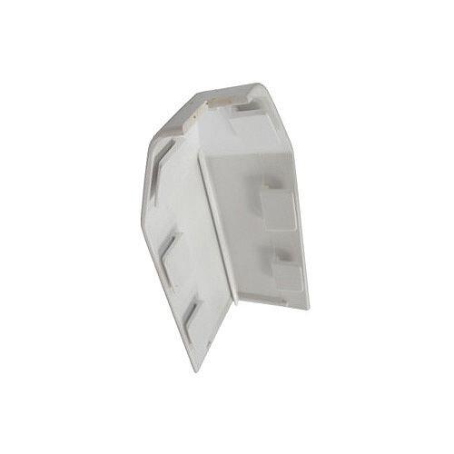 Skirting Trunking External Angle - White