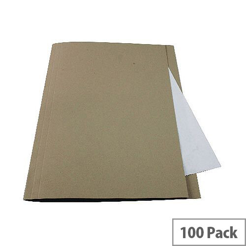 Guildhall Buff Square Cut Folder Pack of 100 43202