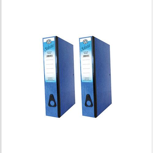 Concord IXL Selecta Box File Foolscap Blue Pack of 10 BOGOF JT16014