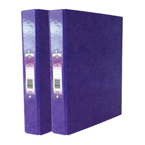 Concord IXL A4 Purple Ring Binder Pack of 10 BOGOF JT816024
