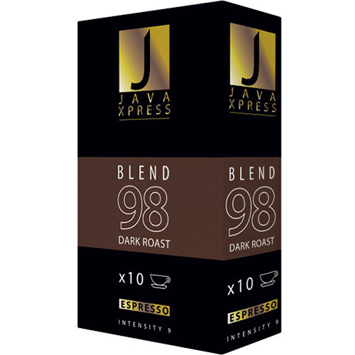 Java Xpress Blend 98 Coffee Capsules Pack of 100 JX1098
