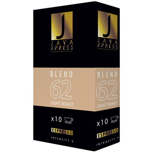 Java Xpress Blend 62 Coffee Capsules Pack of 100 JX1062