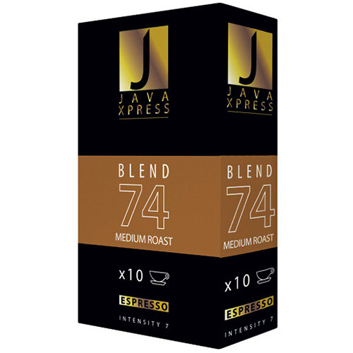 Java Xpress Blend 74 Coffee Capsules Pack of 100 JX1074