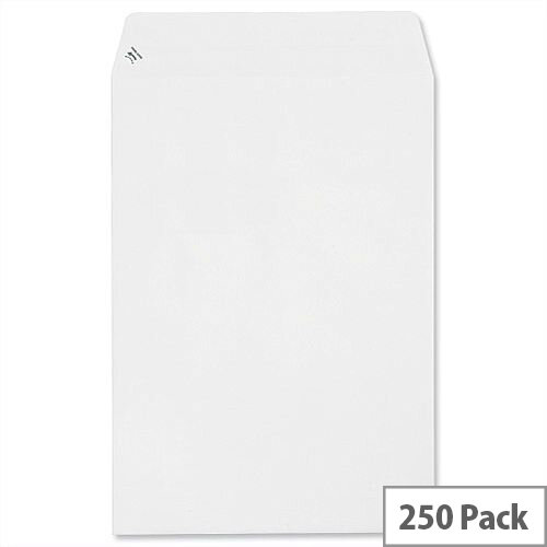 Plus Fabric C4 Pocket Envelopes White Peel and Seal 120gsm Pack 250