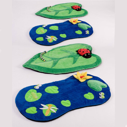 Back to Nature Snuggle Mats 4 Pack with FREE Holdall