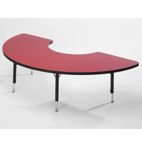 Height adaptable Arc Table - Red 43cm -63.5cm