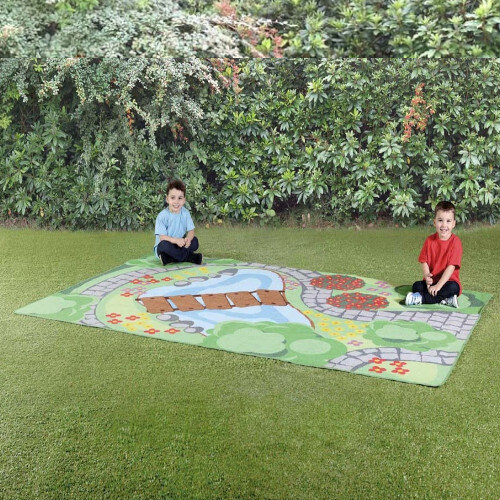 Back to Nature Highly Visual Garden Outdoor Mat