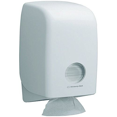 Kimberly Clark AQUARIUS Bulk Pack Toilet Tissue Plastic Dispenser White 6946