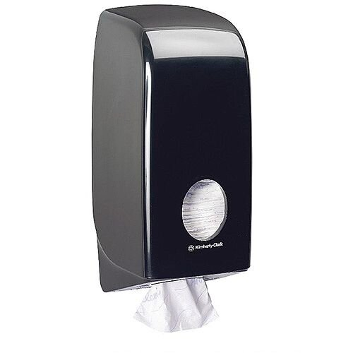 Kimberly Clark Aquarius Bulk Pack Toilet Tissue Plastic Dispenser Black 7172