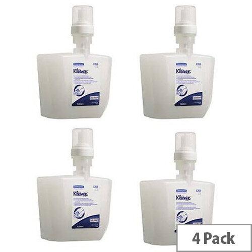 Kleenex Moisturising Alcohol Instant Sanitiser 1.2 Litre Pack of 4 6359