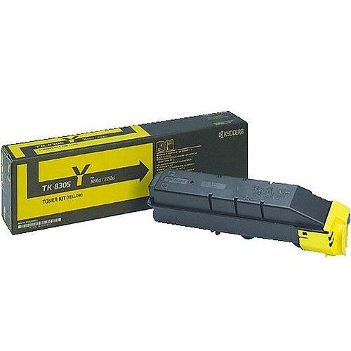 Kyocera TK-8305Y Yellow Toner Cartridge