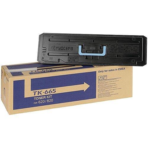 Kyocera TASKalfa 620 820 Toner Cartridge Black TK-665