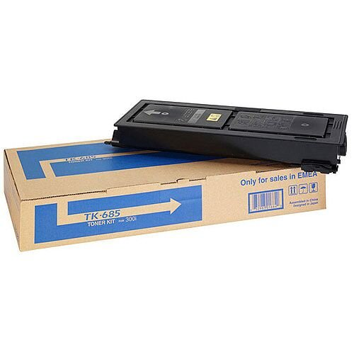 Kyocera Black Laser toner TK-685 Pack of 1