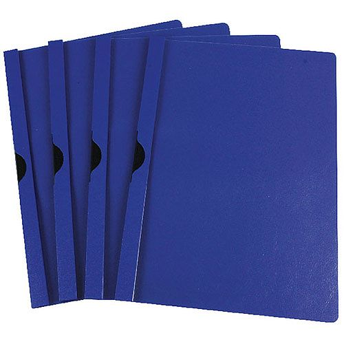 Quickclip File A4 3mm Pack of 25 Dark Blue Q-Connect