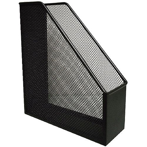 Q-Connect Mesh Magazine File Black KF00862
