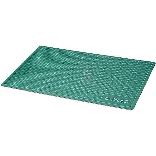 Q-Connect Cutting Mat A3 Green