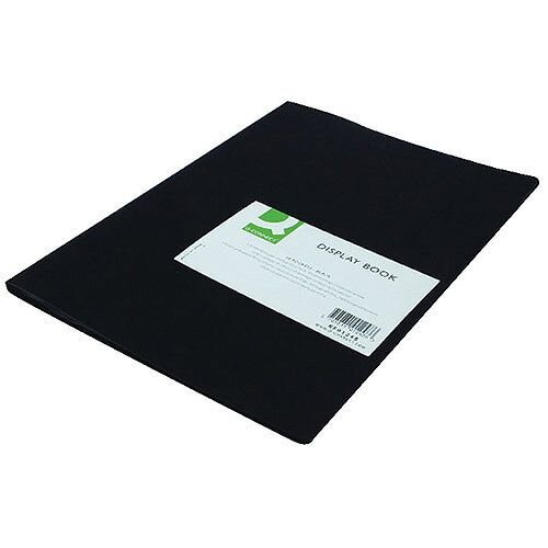 Display Book 10-Pocket Black Q-Connect