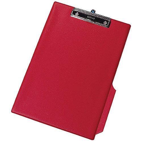 Q-Connect PVC Clipboard Single Red Foolscap/A4