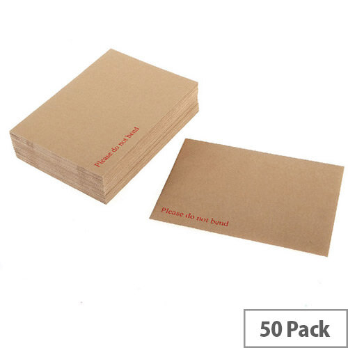 Q-Connect C3 Manilla Board Backed Envelopes Peel and Seal 115g (Pack 50)