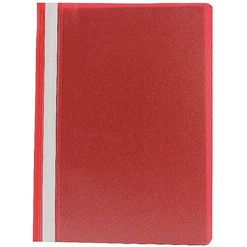 Project Folder A4 Red Pack of 25 Q-Connect KF01455